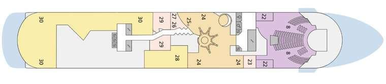AIDAcara - Deck 8