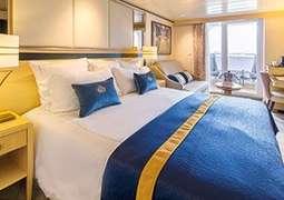 Balkonkabine - Queen Mary 2
