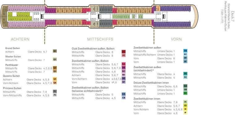 Queen Elizabeth - Deck 7