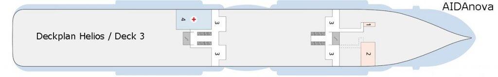AIDAnova Deck 3